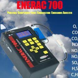 אנלייזר למדידת גזים פליטה ENERAC