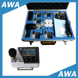 דוזימטר אישי למדידת רעש תעסוקתי דגם AWA5910
