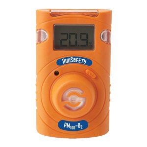 גלאי אישי לחמצן O2 דגם PM100