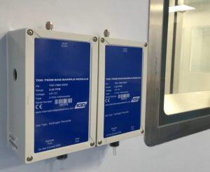 מערכת דיגום גז TOC 750S