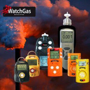 גלאי גזים ניידים ואישיים לכל סוגי הגזים