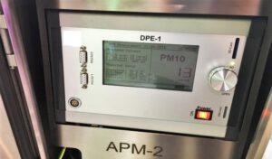 APM-2 מד אבק תצוגה